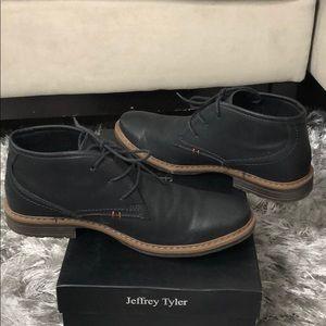 0cd03e12d7d Jeffrey Tyler Greenwich Black Men's Chukka NWT